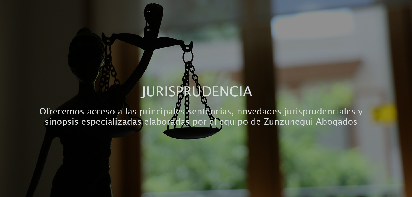 bannerjurisprudencia2 JURISPRUDENCIA