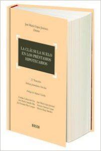 31AdHFFuV0L. BO1204203200  201x300 Segunda edición de un clásico sobre las cláusulas suelo