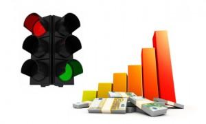 semaforo grafico billletes 300x180 Se enciende el semáforo de riesgos de productos financieros