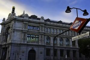 Metro Banco de España. Madrid