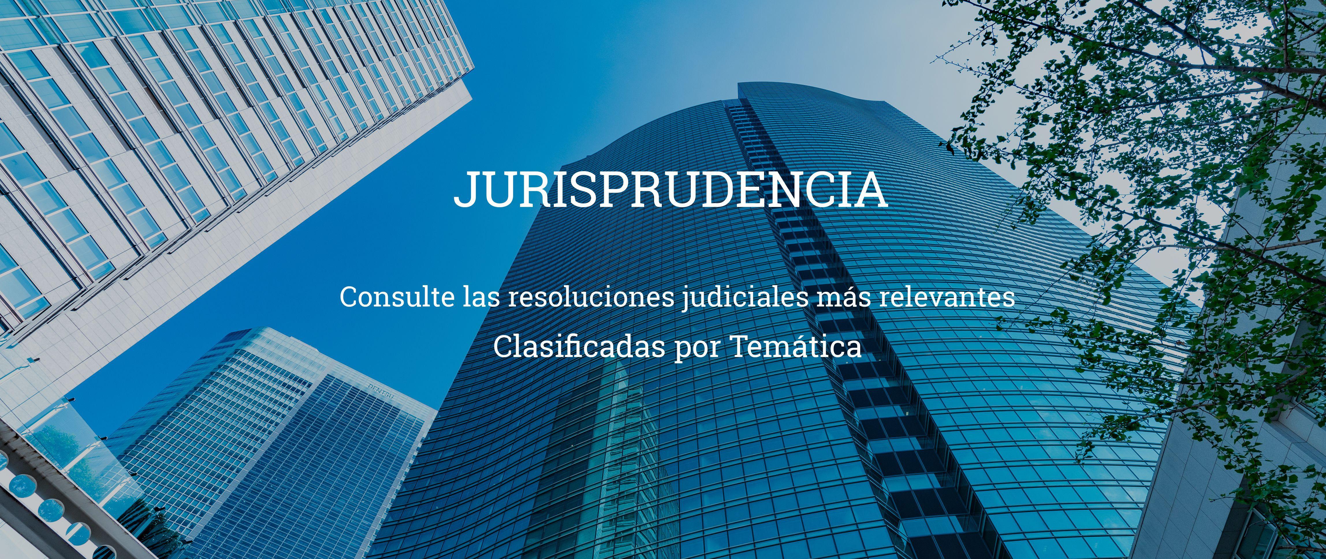 jurisprudencia por tematica Por Temática