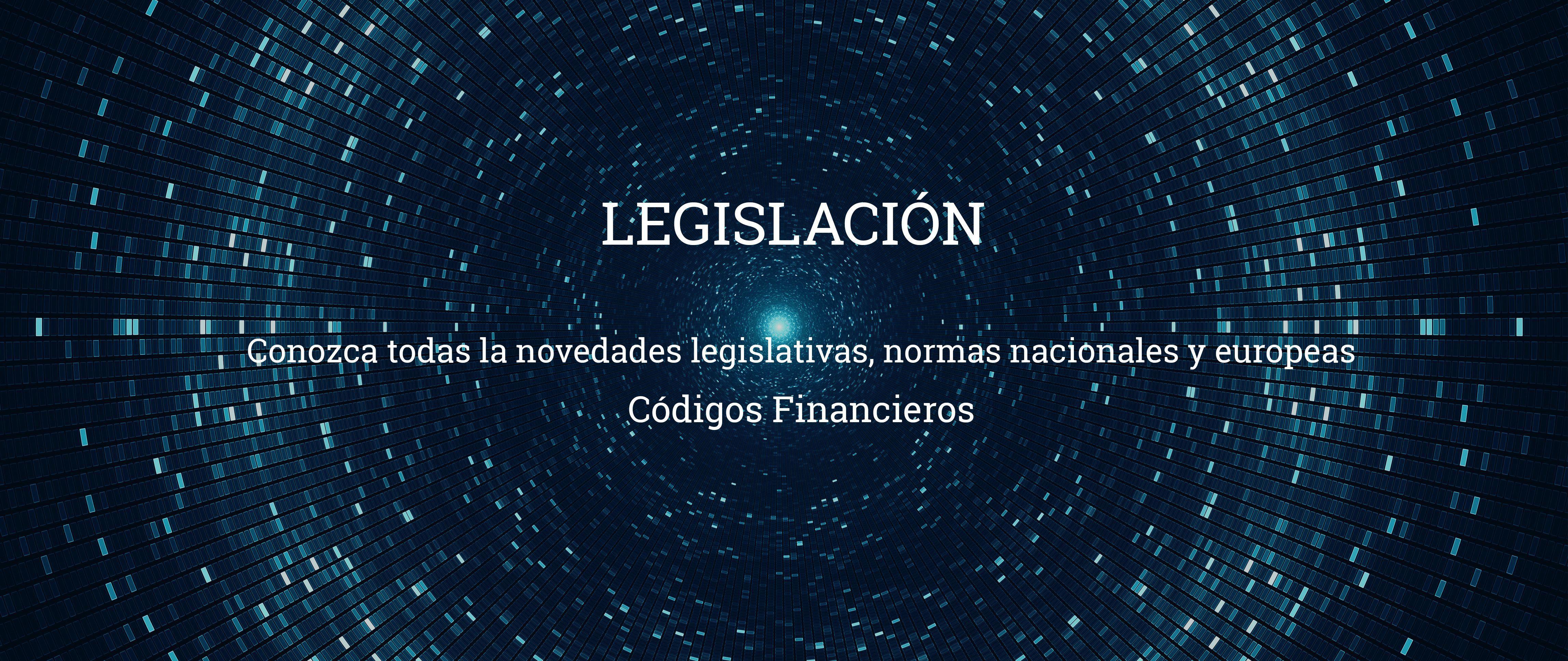 legislacion codigos financieros Códigos financieros