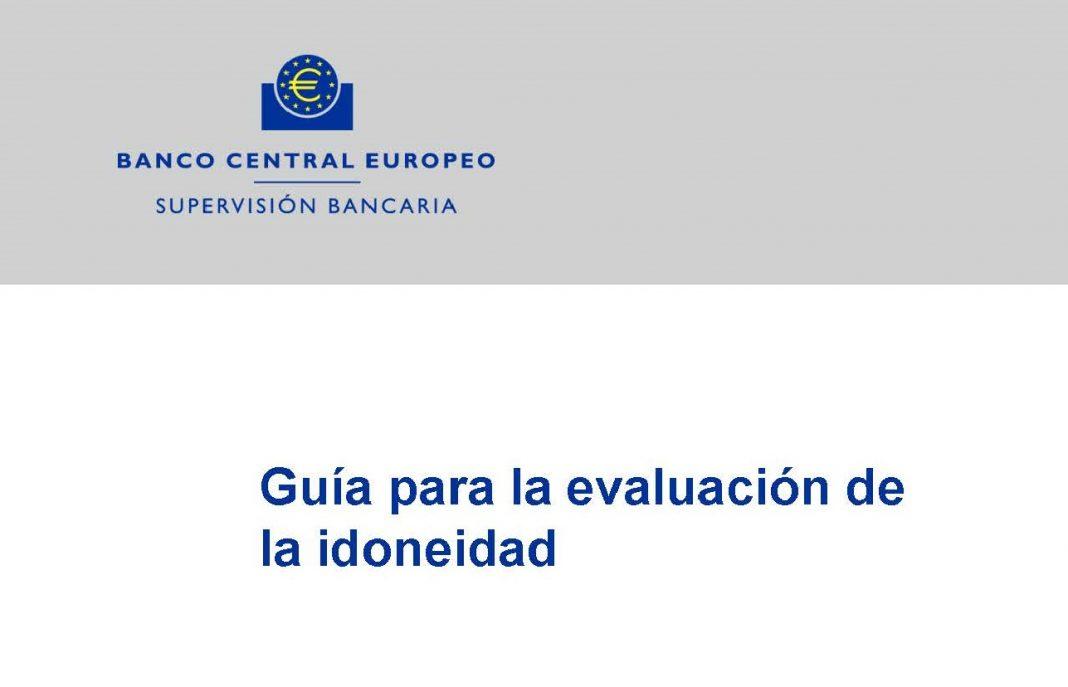 Guía para la evaluación de la idoneidad BCE