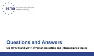 Captura 1 300x178 ESMA actualiza Preguntas y Respuestas sobre protección del inversor con MiFID II y MiFIR