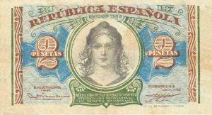 1938 billete 2ptas republica peque 300x162 El Supremo rechaza indemnizar por la invalidación del dinero emitido en la II República