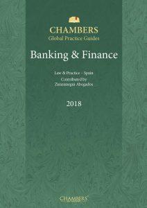 portada Chambers Spain Banking Finance 212x300 Guía Chambers 'Banking & Finance 2018' para España elaborada por Zunzunegui Abogados
