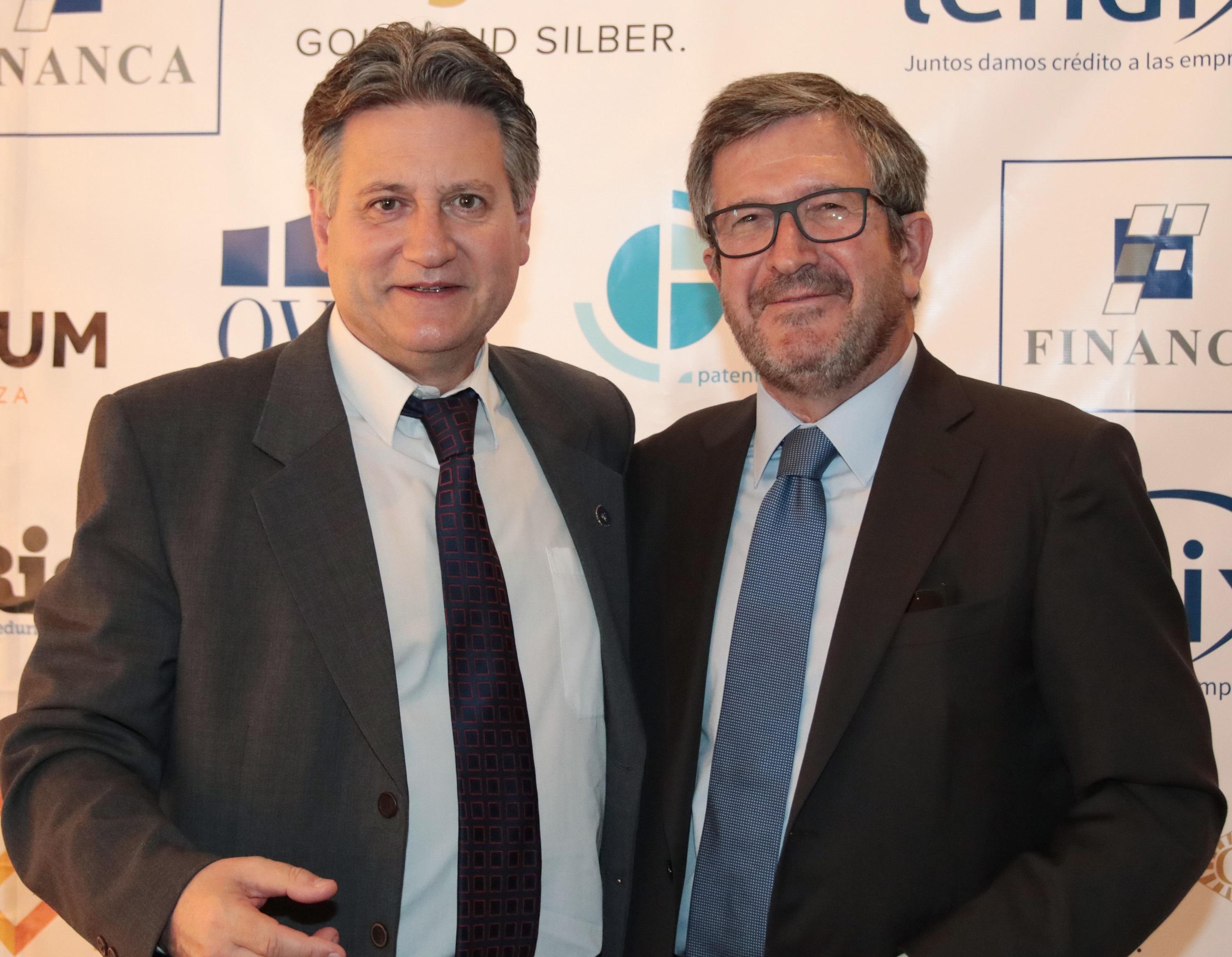 Expofinancial 2018 Fernando Zunzunegui y Jesús Campoy La nueva normativa sobre intermediarios de crédito a debate en Expofinancial AIF 2018