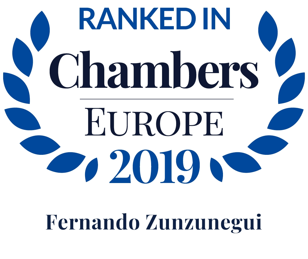 Ranked In Chambers Europe 2019 Director