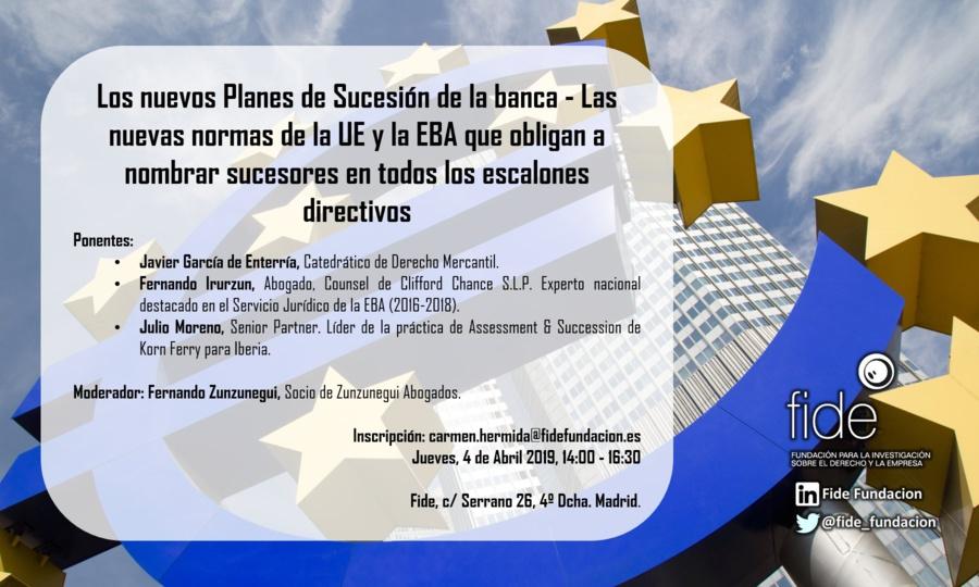 agenda 623466 Todas las claves sobre los planes de sucesión de la banca