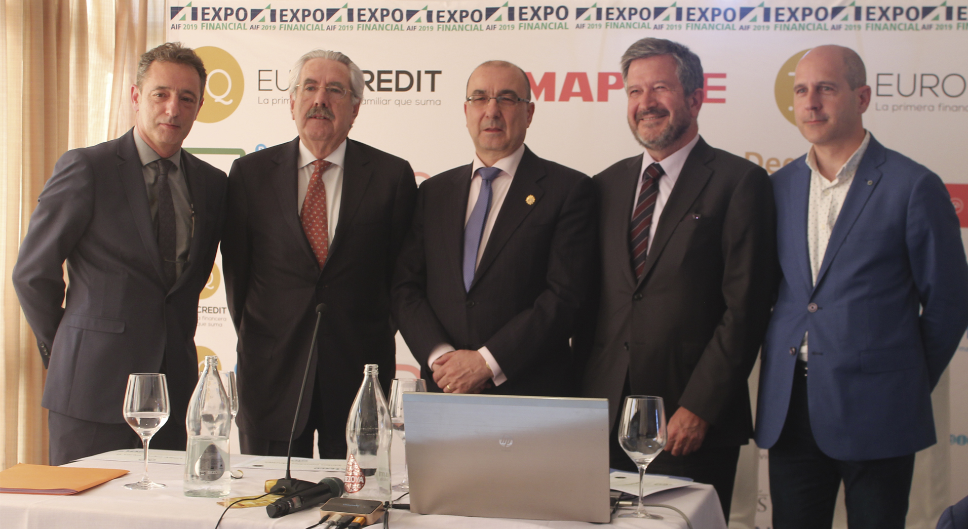 Ponentes Expofinancial 2019 ley hipotecaria Lagunas de la Ley Hipotecaria en la Jornada Expofinancial 2019