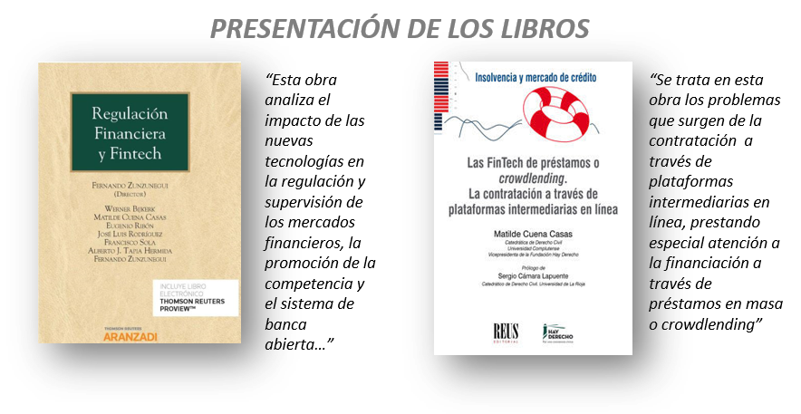 Libro Fernando Zunzunegui Financiación y revolución tecnológica a debate: ¿Cómo regular Fintech?